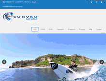 Tablet Preview of curvaosurfschool.com.br